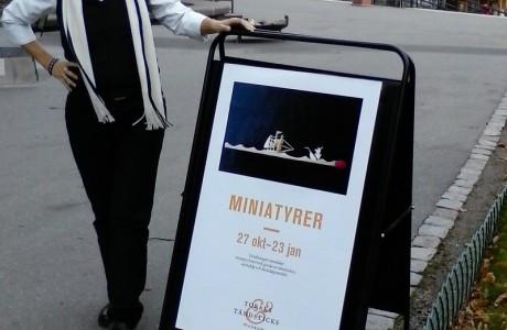תערוכה במוזיאון הטבק והגפרורים בסטוקהולם